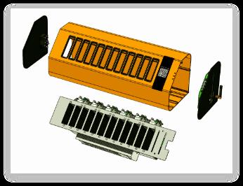 图纸展示-机柜结构图纸